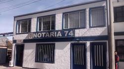 Notaría 74 de Bogotá