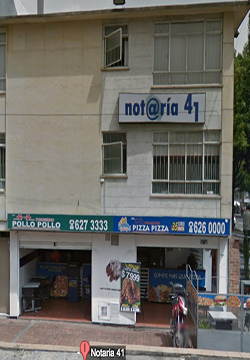 Notaría 41 de Bogotá
