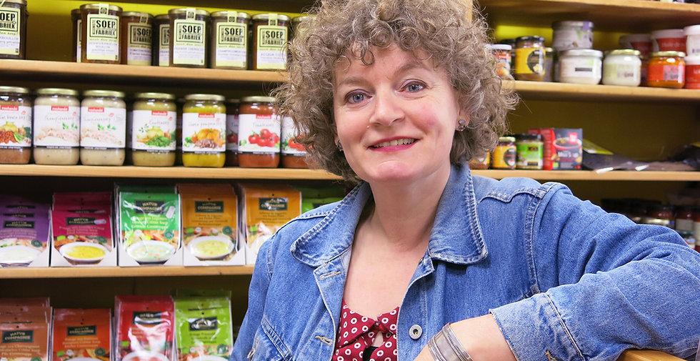 Ellen Appeldoorn van De Groene Kamer in Rhenen verkoopt biologische natuurvoeding van hoge kwaliteit