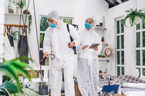 Professional Residential On-Site Disinfecting Services
