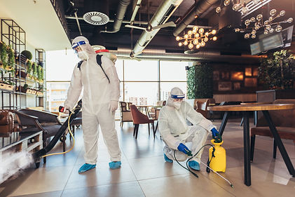 Disinfecting Commercial Space
