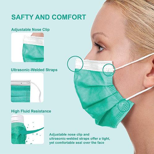 Pac-Dent - MASKT-06T-TA i Mask ASTM Level 3 (50Pack)