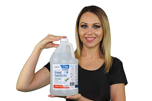 Hygienex Hospital Grade Hand Sanitizer 1 Gallon Liquid 128 Fl Oz. Refill, Unscen