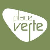 Réalisation Logo, menus et photos muraux pour la Place verte