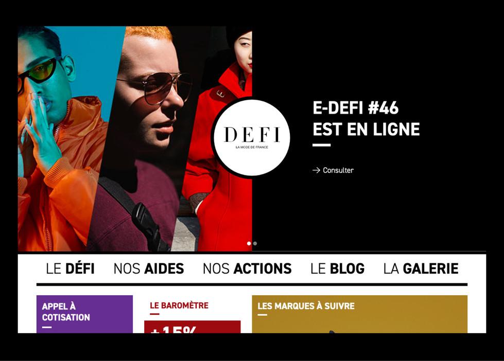 DEFI - La mode de France