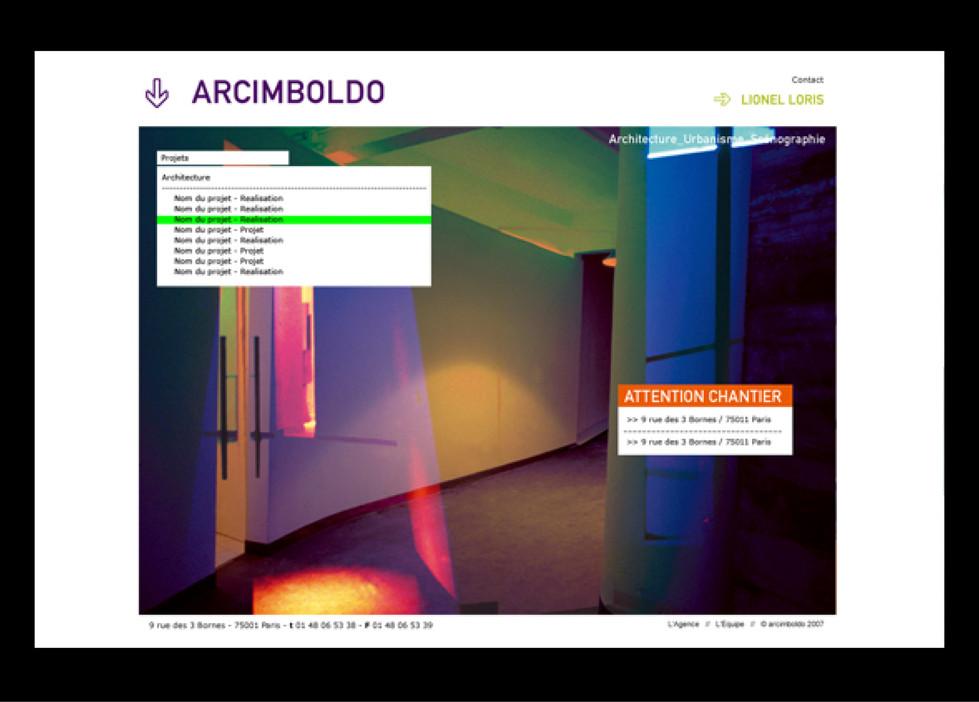 ARCIMBOLDO - Architekt