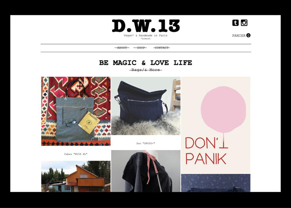 D.W.13 — Taschen und mehr