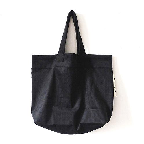 ISY.velour noir - Cabas / D.W.13