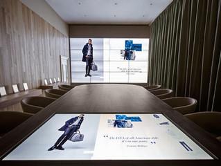 Innovation in der Modebranche: Digitaler Showroom von Thommy Hilfinger.