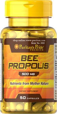 Puritan's Pride Bee Propolis 500 mg/ 50 Capsules