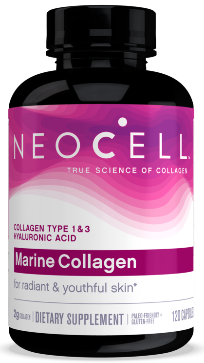 Neocell Fish Collagen 2000mg + Hyaluronic 120 Caps
