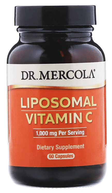 Dr. Mercola Liposomal Vitamin C 1000 mg/ 60 Caps