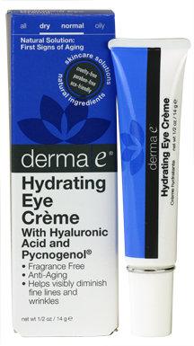 Derma E® Hyaluronic & Pycnogenol® Eye Crème 0.5 oz