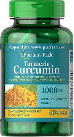 Puritan's Pride Turmeric Curcumin 1000 mg/ 60 Caps