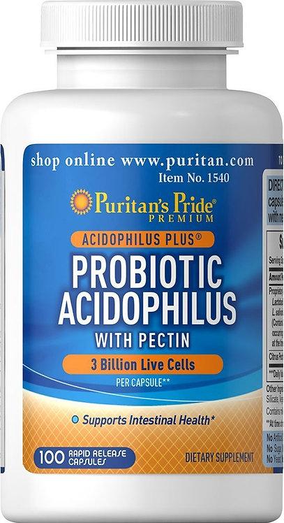 Puritan's Pride Probiotic 3 billion/ 100 Capsules
