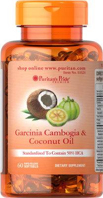 Puritan's Pride Garcinia Cambogia & Coconut Oil
