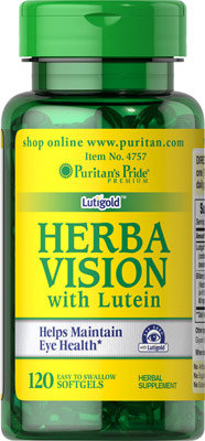 Puritan's Pride Herbavision with Lutein & Bilberry