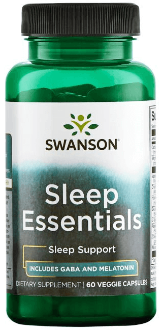 Swanson Condition Specific Formulas Sleep Essentials 60 Veggie Capsules