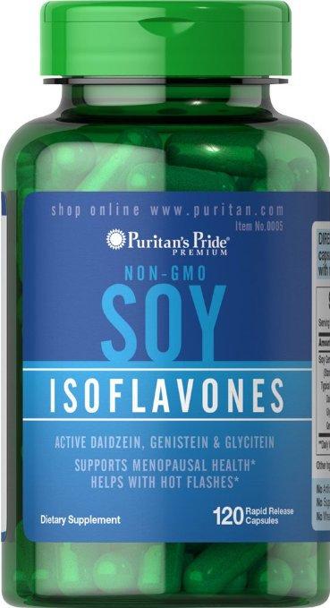 Puritan's Pride Soy Isoflavones 750 mg/ 120 Caps