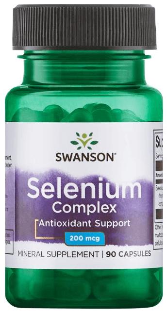 Swanson Albion Complexed Selenium 200 mcg/ 90 Caps