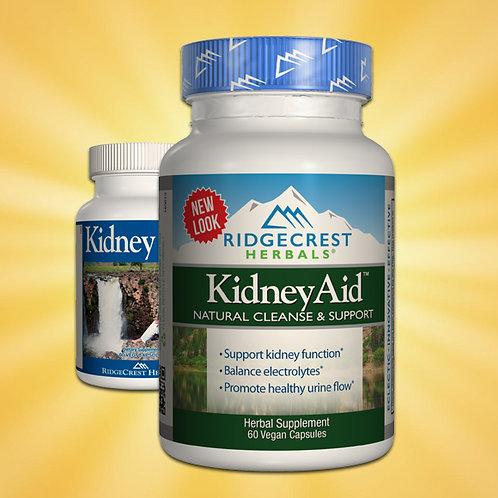 Ridgecrest Herbals Kidney Aid 60 Veg Capsules