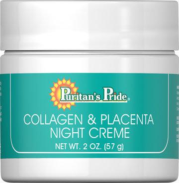 Puritan's Pride Collagen and Placenta Night Cream