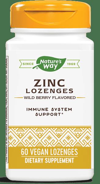 Nature's Way Zinc Lozenges/ 60 Lozenges