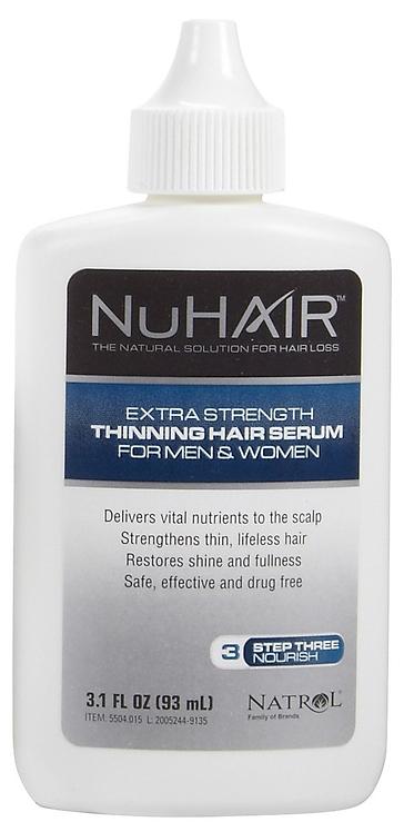 NuHair Thinning Hair Serum 3.1 fl.oz. (90 ml)