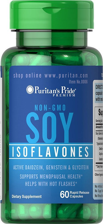 Puritan's Pride Soy Isoflavones 750 mg/ 60 Caps