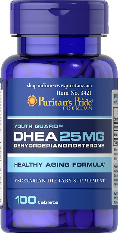 Puritan's Pride DHEA 25 mg/ 100 Tablets
