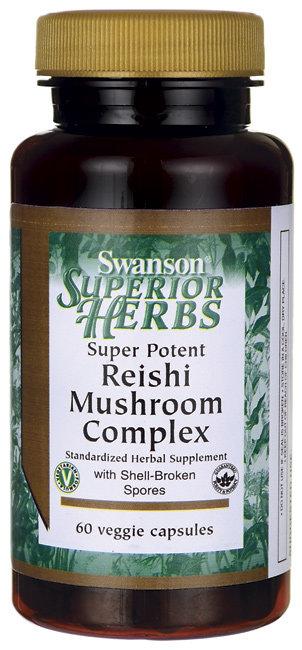 Swanson Super Potent Reishi Mushroom Complex