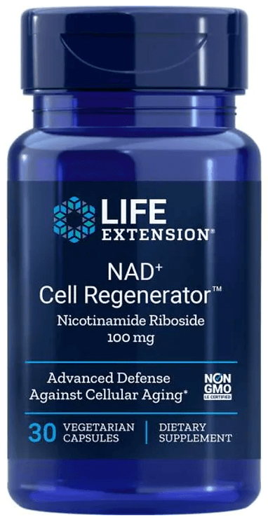 Life Extension NAD+ Cell Regenerator Nicotinamide Riboside 100mg/ 30 Veg Caps