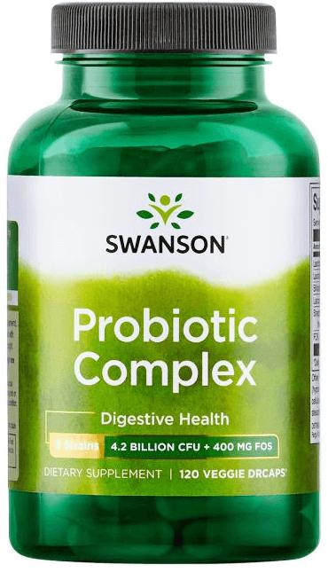 Swanson Ultra Probiotic Complex/ 120 Veg Caps