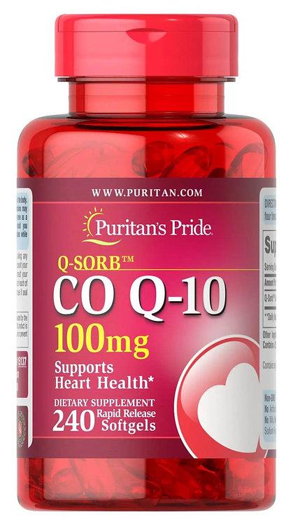 Puritan's Pride  Co Q-10 100 mg/ 240 Softgels