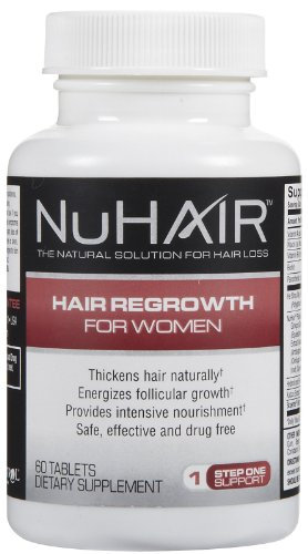 NuHair Hair Regrowth For Women - 60 Tablets