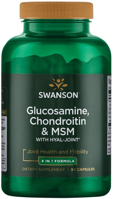 Swanson Ultra Glucosamine, Chondroitin & MSM with Hyal-Joint/ 90 Caps