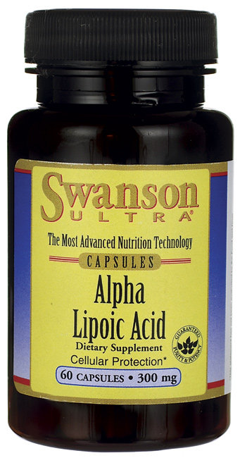 Swanson Ultra Alpha Lipoic Acid- 300 mg/ 60 Caps