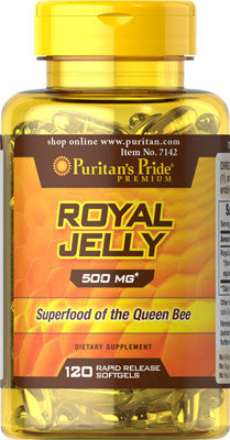 Puritan's Pride Royal Jelly 500 mg/ 120 Softs