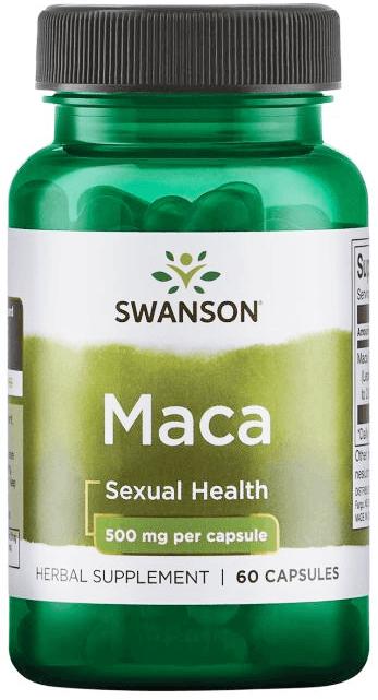 Swanson Passion Maca 500 mg/ 60 Capsules