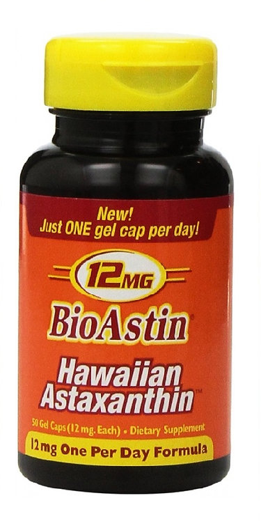 BioAstin Hawaiian 12 mg 50 Gelcaps