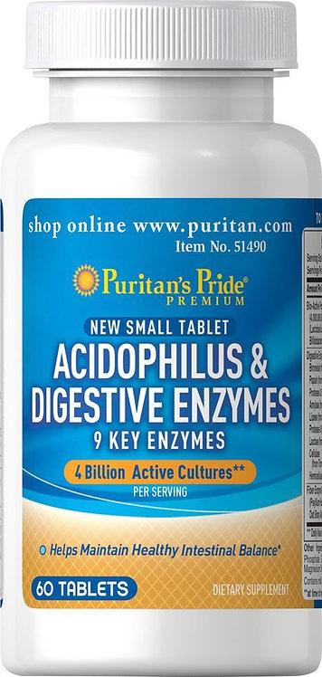 Puritan's Pride Acidophilus & Digestive Enzymes