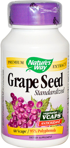 Nature's Way Grape Seed Extract/ 60 Vegi Caps