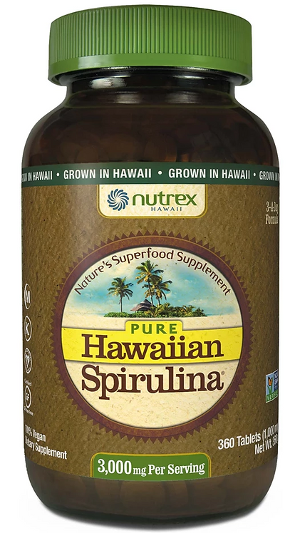 Hawaiian Spirulina 3000 mg/ 360 Tablets