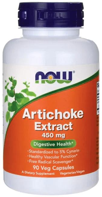 NOW Foods Artichoke Extract 450 mg 90 Veg Caps