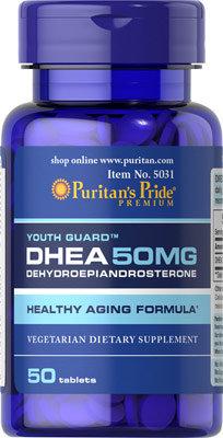 Puritan's Pride DHEA 50 mg/ 50 Tablets