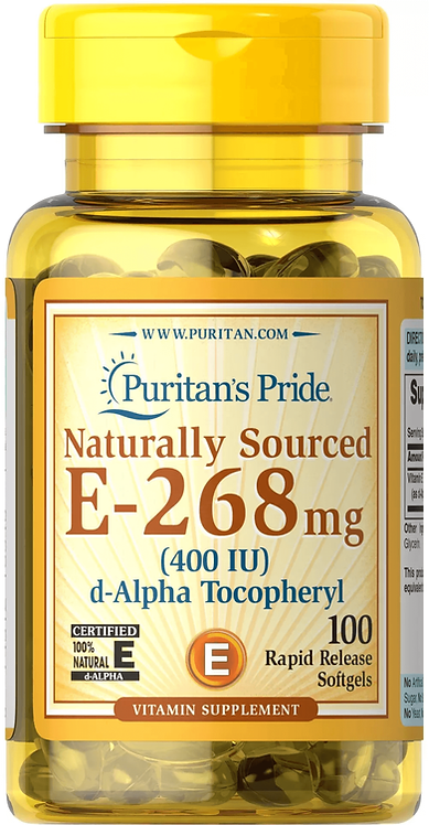 Puritan's Pride Vitamin E-400 iu/ 100 Softgels