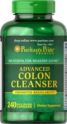 Puritan's Pride Advanced Colon Cleanser 240 Caps
