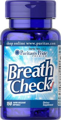 Puritan's Pride Breath Check® 150 Softgels