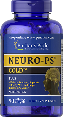 Puritan's Pride NEURO-PS® GOLD™ 90 Softgels