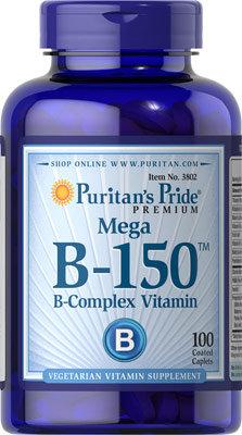 Puritan's Pride Vit B-150™ Complex/ 100 Caplets